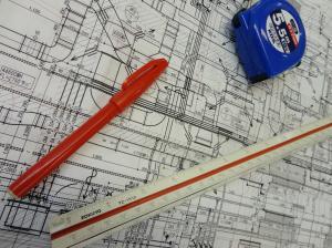 施工図の作図状況