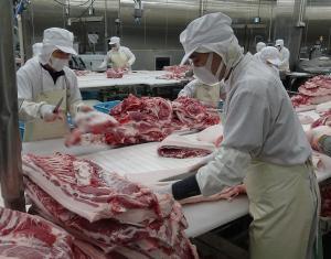 大里工場での仕事風景