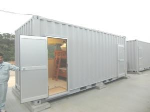 コンテナで作った宿泊施設です