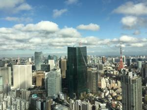 東京本社からの眺めです