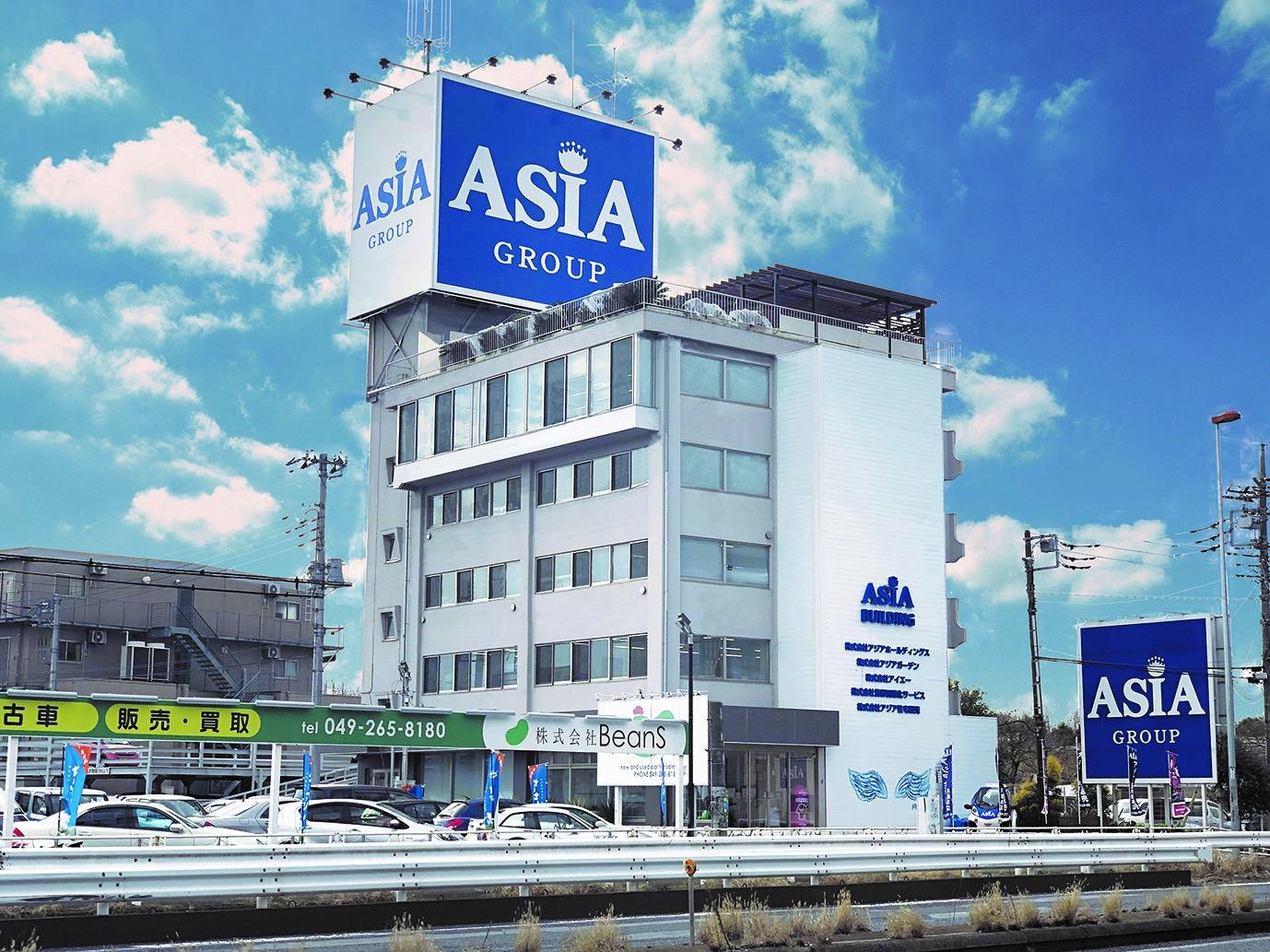 本社は自社ビルで埼玉にあります